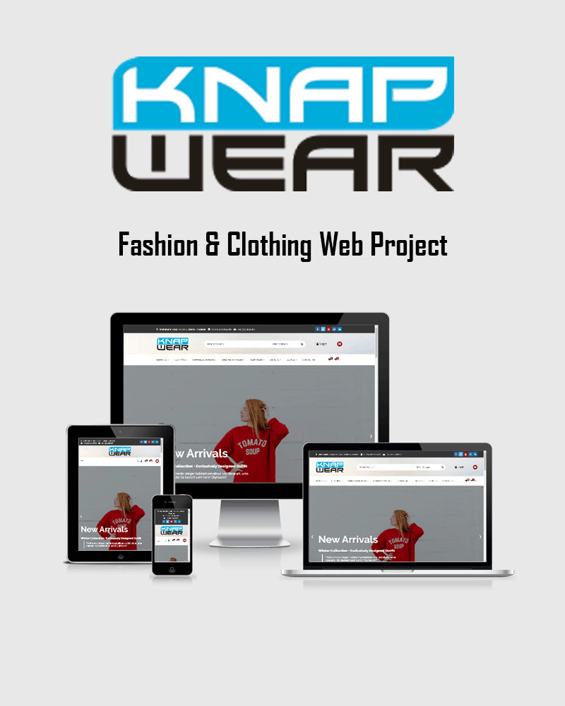 Best Fashion and Clothing store development service in Pakistan. We offer WooComerce, Shopify and OpenCart website design and development.